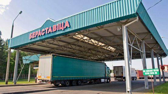 В пункте пропуска «Берестовица» («Бобровники») меняется организация движения грузового транспорта