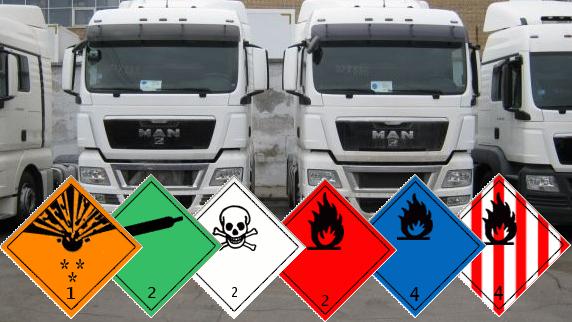 В Беларуси изменились правила в области перевозки опасных грузов